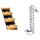 Elevator conveyor belts
