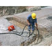 High-frequency concrete vibrators