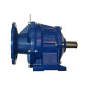 In line helical gears